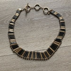 EUC kenneth cole gold and black necklace with 💎